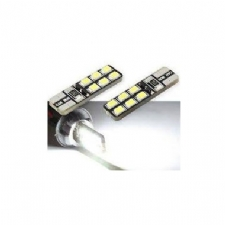 AMPUL LED W5W 12V EXCLUSIVE CB BEYAZ 6+6+3 PARK